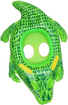 Sharplace Inflable Anillo de Natación Piscina Flotador Niño Cintura Flotador Anillo Lindo Juguete - Cocodrilo: Amazon.es: Juguetes y juegos
