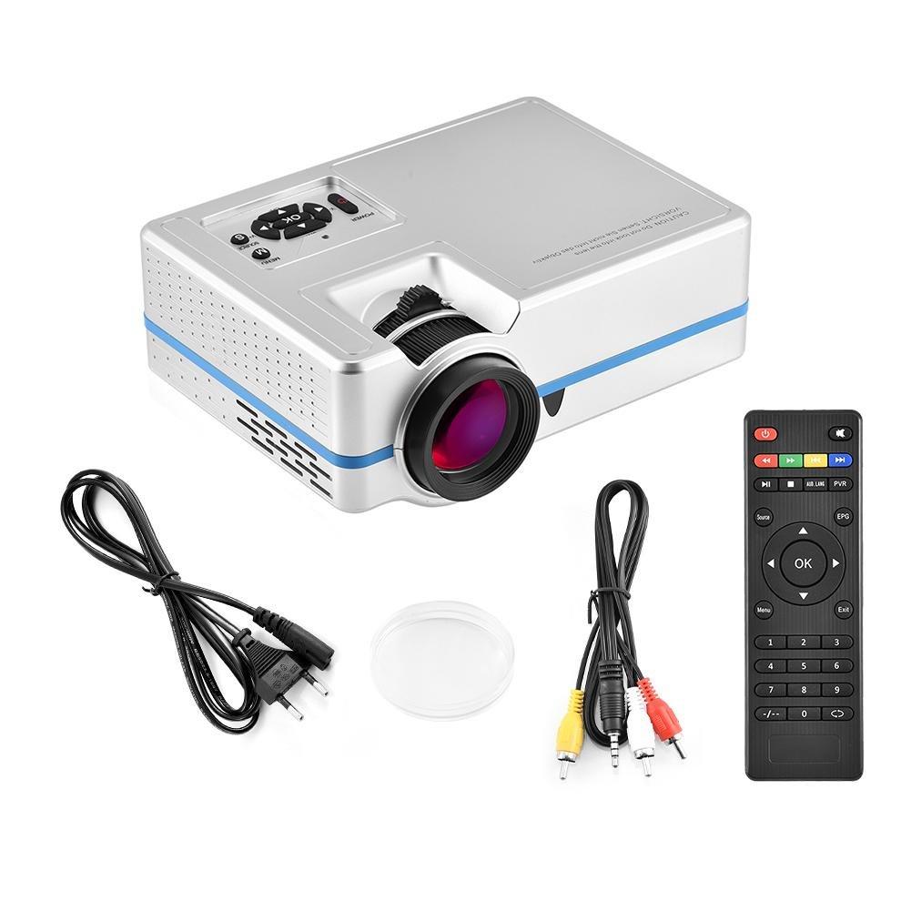 Proyector de Cine en casa, Mini Portátil Videoproyector LED ...