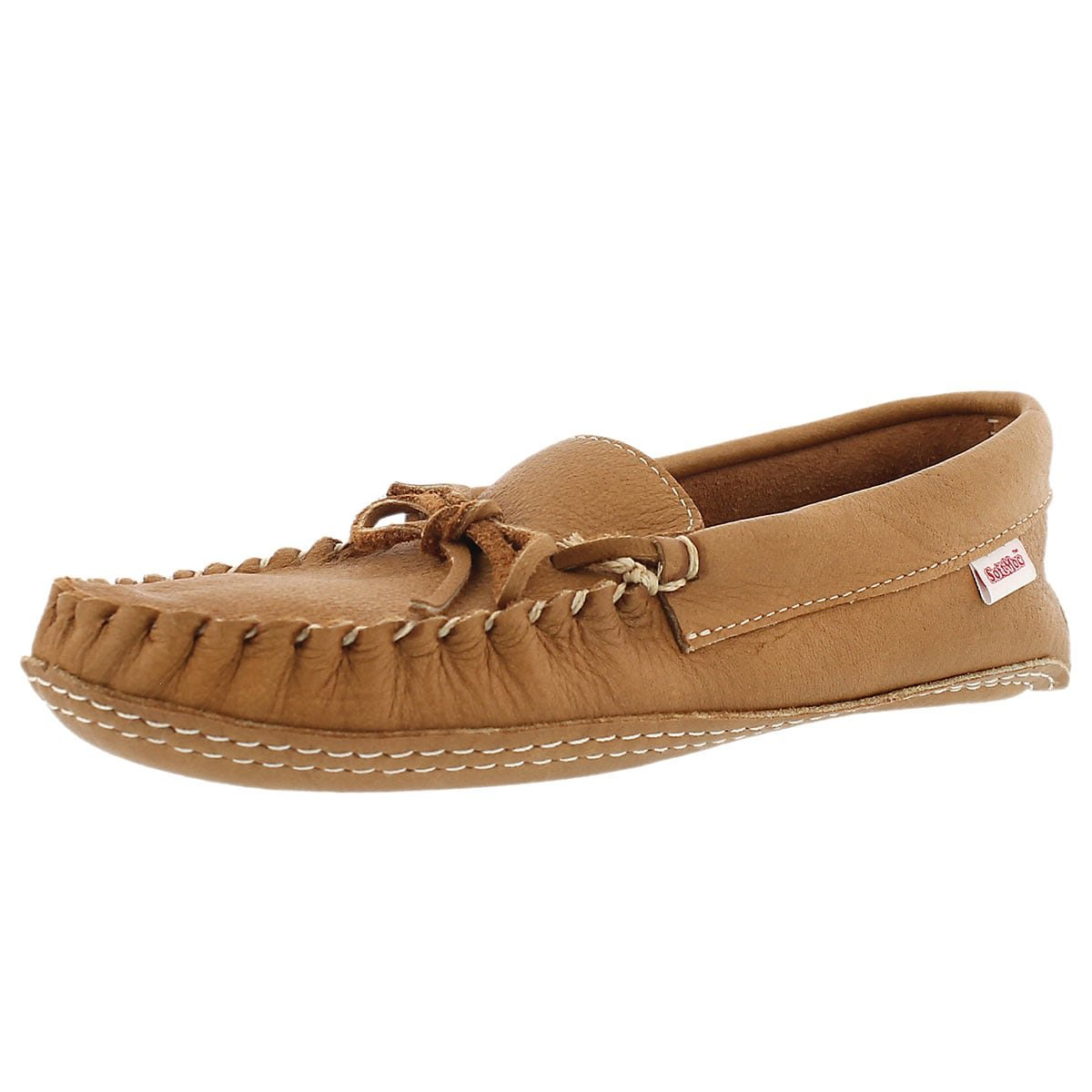 SoftMoc Men's 1131 Double Sole Unlined Moosehide Moccasin