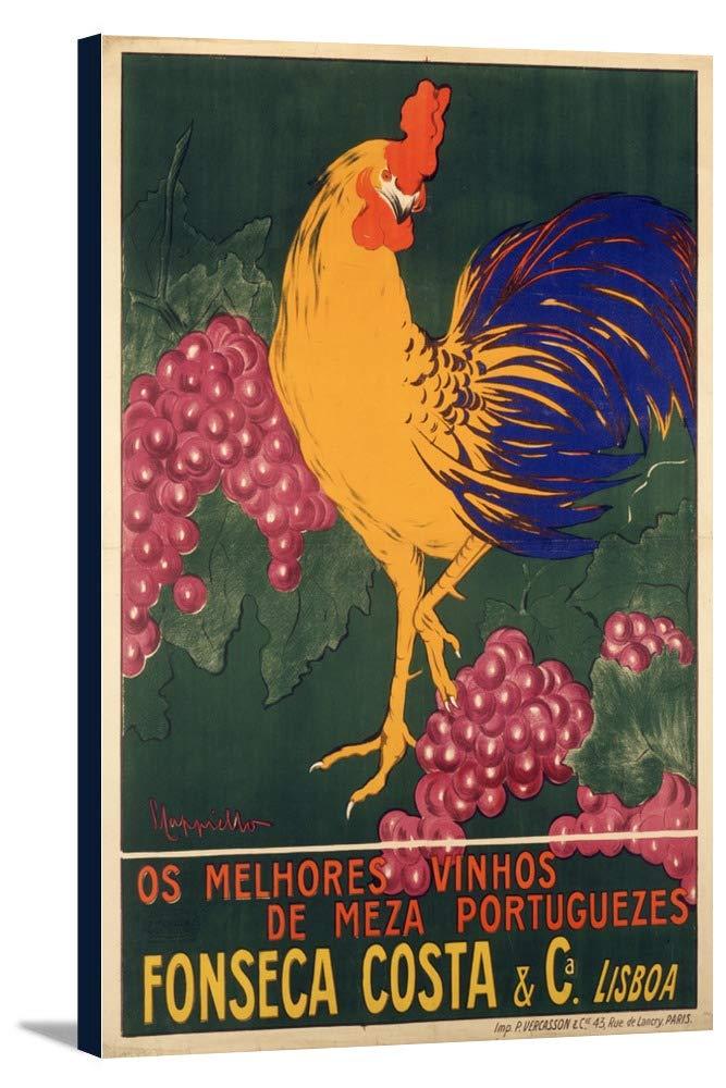 Fonesca Costaヴィンテージポスター(アーティスト: CAPPIELLO )フランスC。1906年 12 x 18 Gallery Canvas LANT-3P-SC-74820-12x18 12 x 18 Gallery Canvas  B01EBQI56E