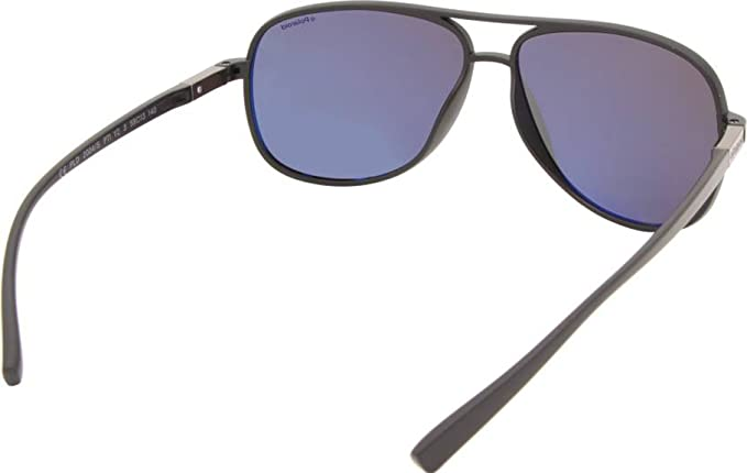 e1308fb111ad1 Polaroid Rounded Full Rim Unisex Sunglasses with Miscellaneaous ...