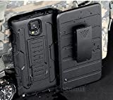 Cocomii Robot Armor Galaxy Note 4 Case NEW [Heavy Duty] Premium Belt Clip Holster Kickstand Shockproof Bumper [Military Defender] Full Body Dual Layer Rugged Cover for Samsung Galaxy Note 4 (R.Black)
