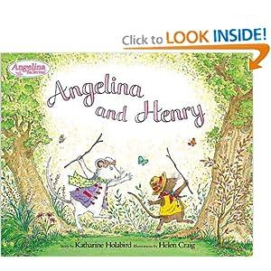 Angelina and Henry with Plush Katharine Holabird and Helen Craig