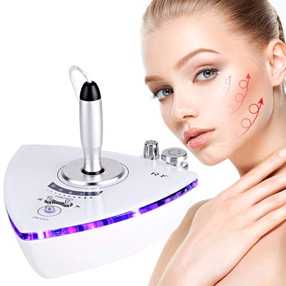 RF Radio Frequency Facial Machine, Beauty Star Home Use Portable Machine For Face Skin Removal Wrinkle Skin Tightening Eye Bags Removal