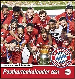 FC Bayern München 2021 Sammelkartenkalender: Amazon.fr: Livres