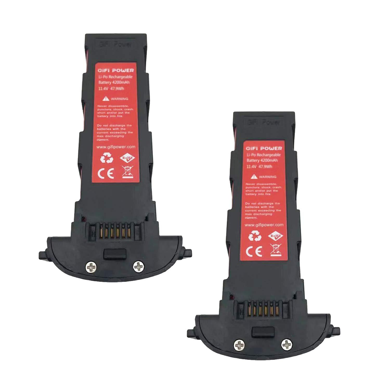 Ajcoflt Reemplazo para Hubsan Zino Pro RC Drone 11.4V 4200mAh Bater/ía Li-Po