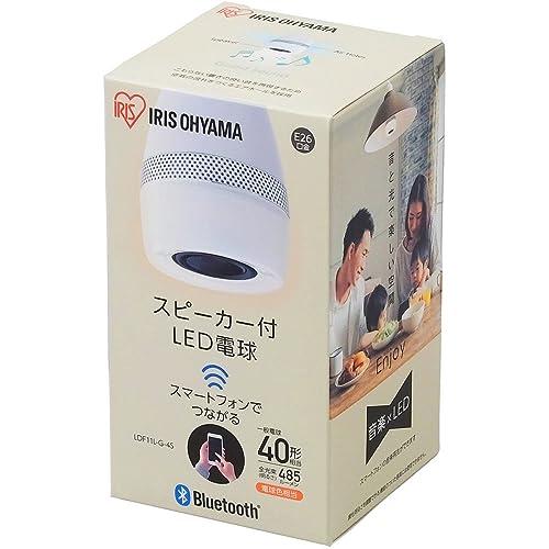 アイリスオーヤマ スピーカー付LED電球 LDF11L-G-4S