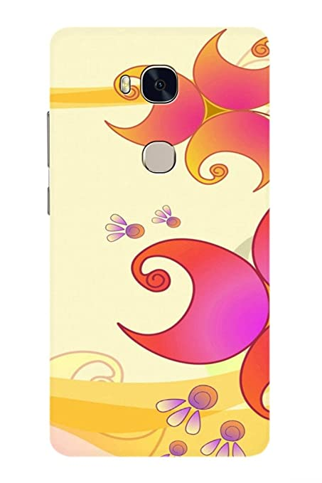 AMAN Sari Desig 3D Back Cover for Honor 5X: Amazon in