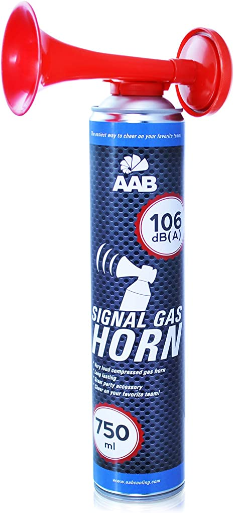 AABCOOLING Signal Gas Horn 750ml - Fanfarria Muy Fuerte, Bocina de Aire Comprimido, Bicicleta Segunda Mano, Car Horn, Bocina Portatil, Bocina Spray: Amazon.es: Deportes y aire libre
