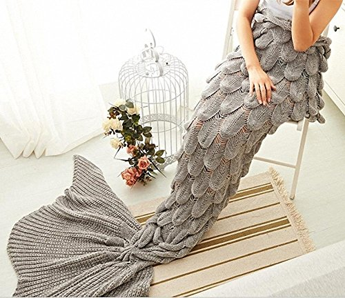 Top 10 Best Children and Adults Mermaid Tail Blankets Reviews 2019-2020 cover image