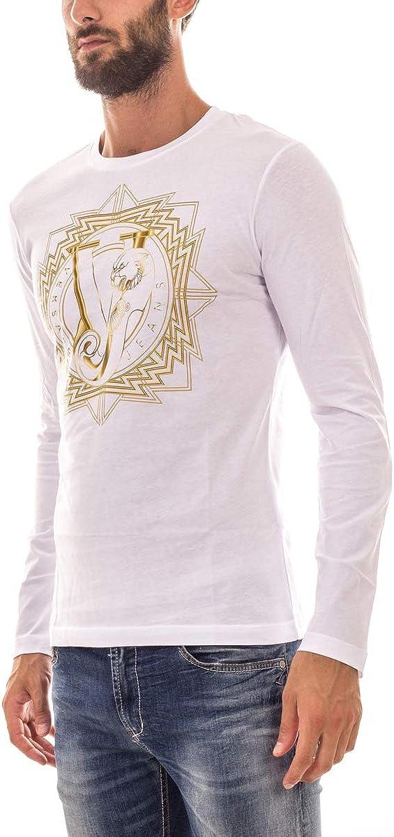 Versace Jeans Men's T-Shirt White (Bianco-e003)