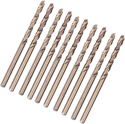 Set Di Punte Per Trapano Frizione Al Cobalto M35 Set Di Punte HSS-CO Da 1,0-5,0mm Per Foratura Su Acciaio Inossidabile 3.5mm