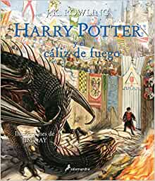 Harry Potter Y El Cáliz De Fuego Harry Potter Edición Ilustrada 4 Spanish Edition 9788498389944 Rowling J K Books
