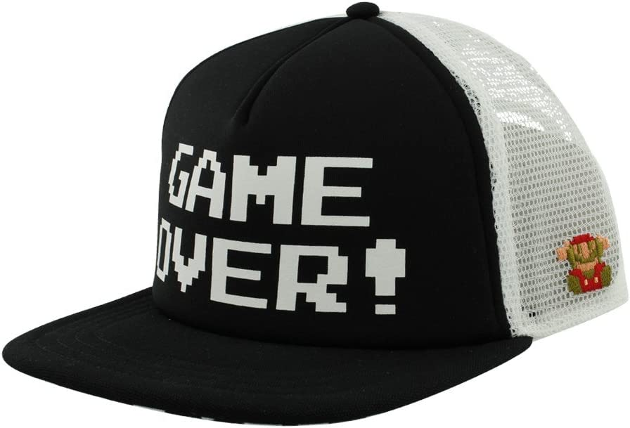 Vans Nintendo Trucker Game Over, Negro: Amazon.es: Deportes y aire ...