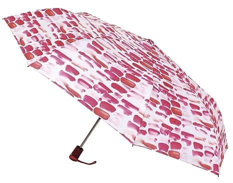 Paraguas Vogue, Abre y Cierra automático, Estampado, antiviento y Acabado Teflón. Original