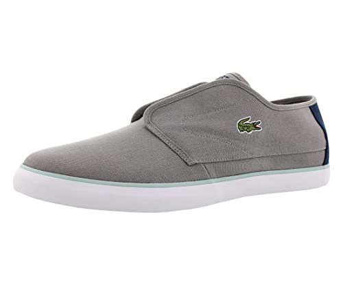 ea77e3f6ef415 Lacoste Over Hand Slip-On Mens Shoes Size 11 Grey Navy Blue