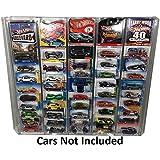 Elite Hot Wheels Clear Acrylic Collector Display Storage Rack