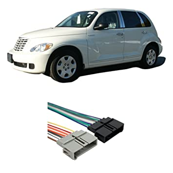 amazon com: chrysler pt cruiser 2001 factory stereo to aftermarket radio  harness adapter: car electronics