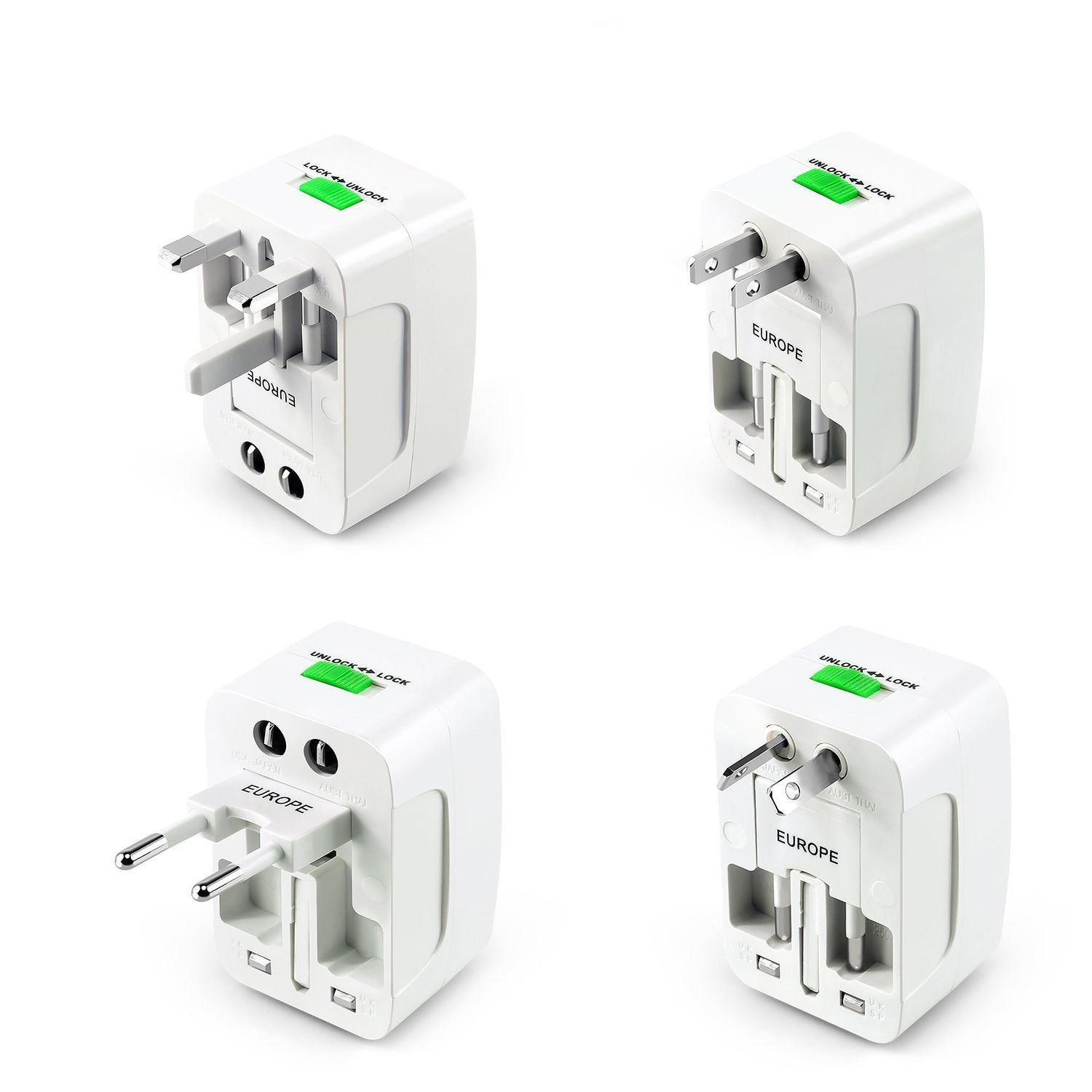 Insten Universal World Wide Travel Charger Worldwide Socket And Plug Apparatus For Dc Power On Wiring Australia Adapter Compatible With Iphone X 8 Lg G6 Samsung Galaxy S8 Plus