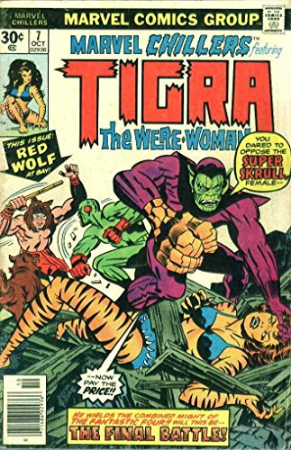 Marvel Chillers #7 (Tigra the Were-Woman) (Marvel Chillers compare prices)