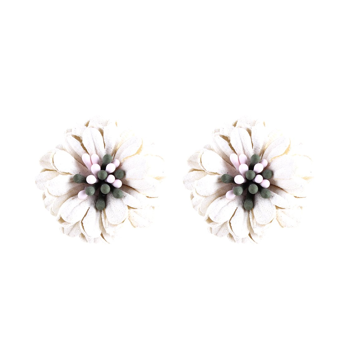 Szolno New Daisy Earrings Simple Handmade Fashion Personality Flowers
