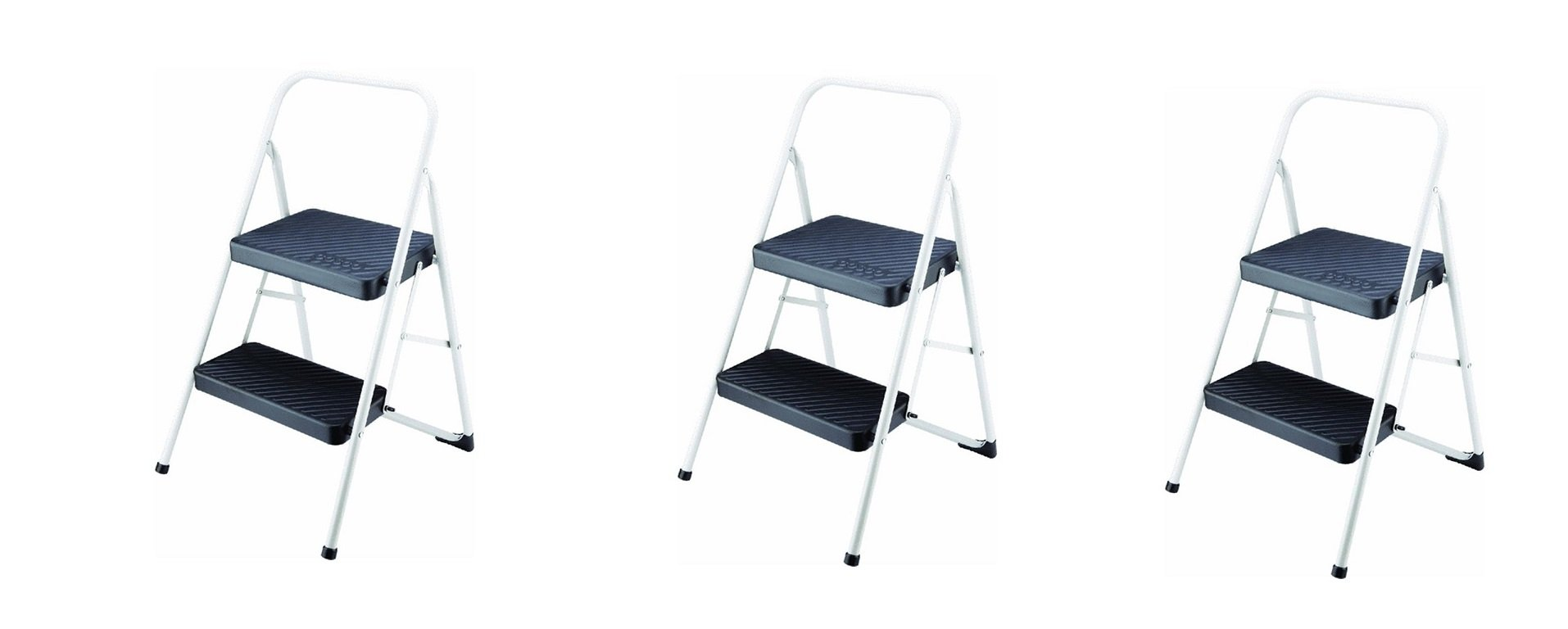 Cosco 2-Step Household Folding Step Stool (PACK OF 3)