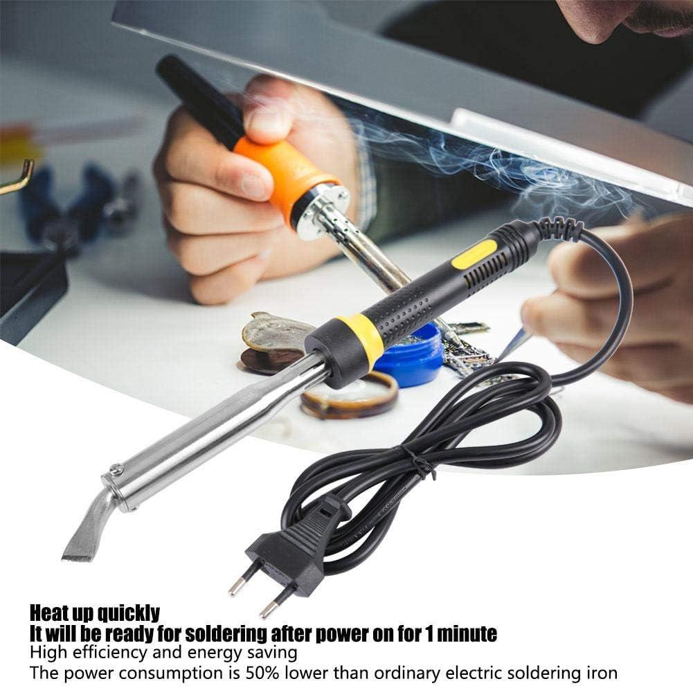 Mini Taille /économie d/énergie 220V 150W Pistolet de temp/érature de Fer /électrique Haute efficacit/é Pointe sans Plomb Fer /à souder Outil de soudage temp/érature de soudage Stable Prise UE