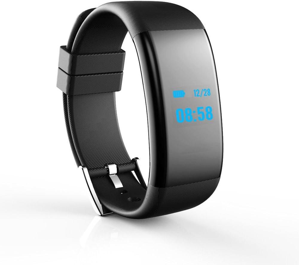 Reloj Inteligente,Webla, Oled Bluetooth Smart Watch Df30 Gsm Smartwatch Para Android Y Iphone Negro (BK)