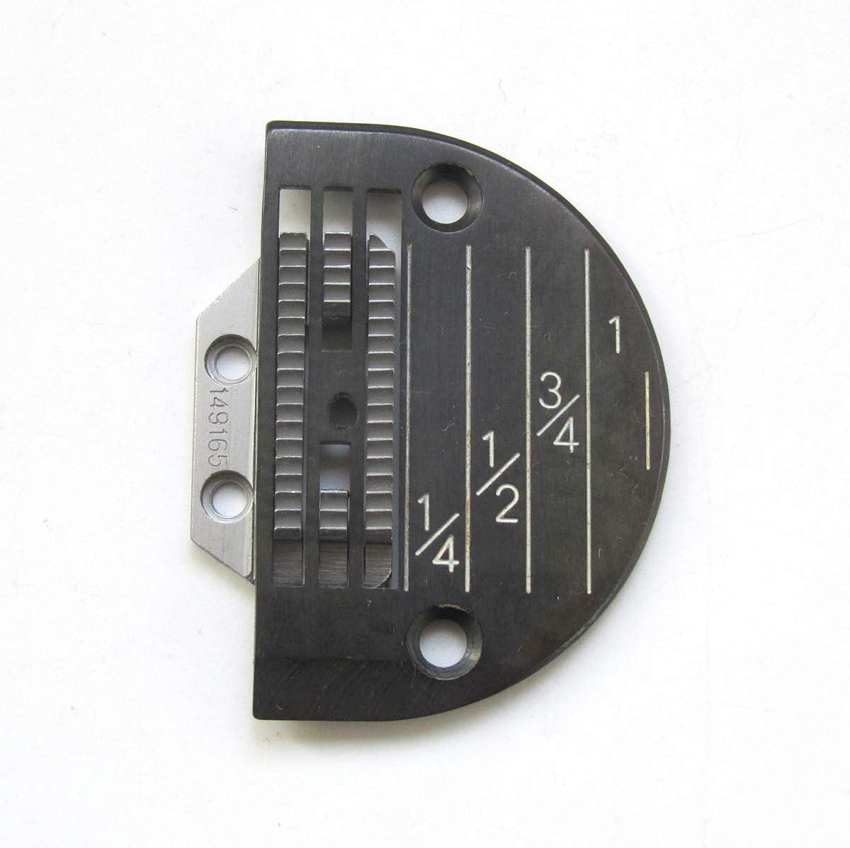 KUNPENG - # 149165 + 143169LGB 1conjunto placa de aguja Y máquina de coser diente apto para Singer 31-15 Máquina pesada de COSER TRABAJO
