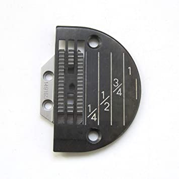KUNPENG - # 149165 + 143169LGB 1conjunto placa de aguja Y máquina de coser diente apto