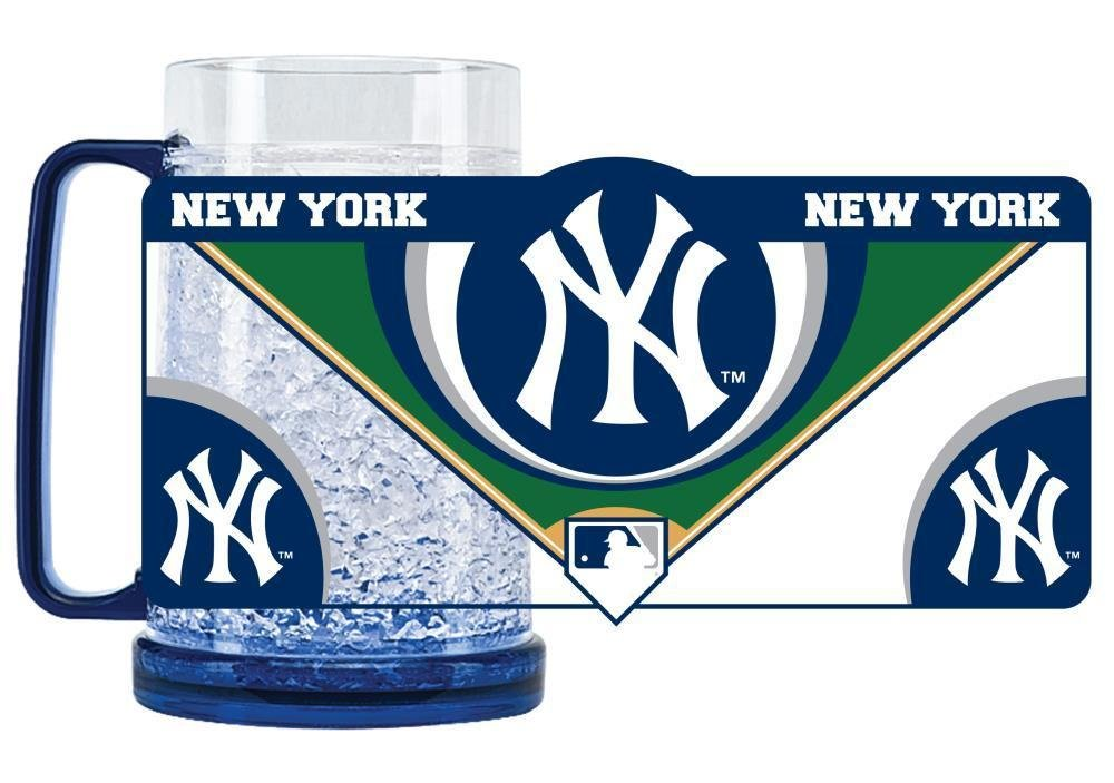 New York Yankees Crystal Freezer Mug