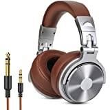 OneOdio Adapter-free DJ Headphones for Studio Monitoring and Mixing,Sound Isolation, 90° Rotatable Housing with Top Protein L