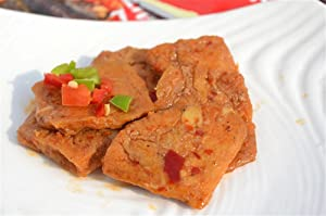 Qyz@ Chinese Special Leisure Snack Food:hunan Changsha Spicy Stinky Tofu