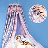 Lustar Mosquito Net Double Bed Canopy Polyester For Home Fly Insect Protection 1.5m To 1.8m Bed Indoor Decoration 4-color To Choose,Pink