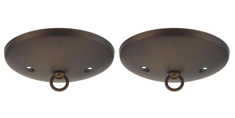 Wellington 7003800 Westinghouse Lighting Modern Canopy Kit, Oil Rubbed Bronze (2)