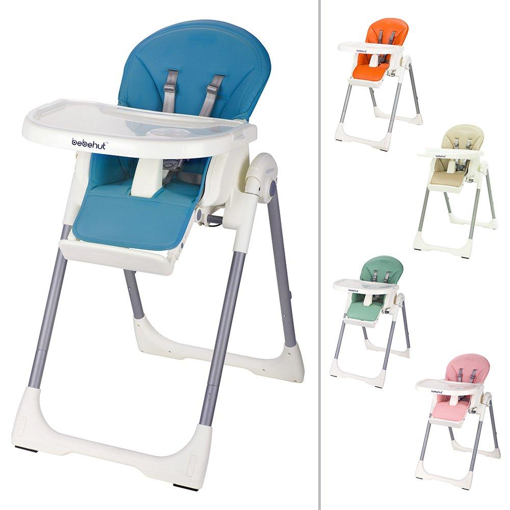 BEBEHUT/® Chaise haute pour enfant Chaise haute pour b/éb/é Chaise enfant Chaise b/éb/é Chaise haute r/églable 1801-D02 JBG005 Sky Blue