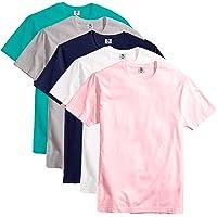 Kit Com 5 Camisetas Slim Masculina Básica Algodão Part.B