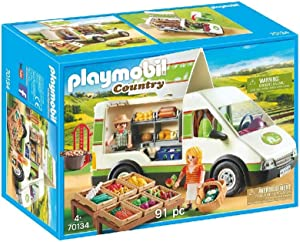 Playmobil Country 70134 Mobile Farm Market, for Children Ages 4+