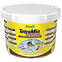Tetra Min Granules, Hoofdvoer In Granulaatvorm Voor Alle Kleine Siervissen, 10 l