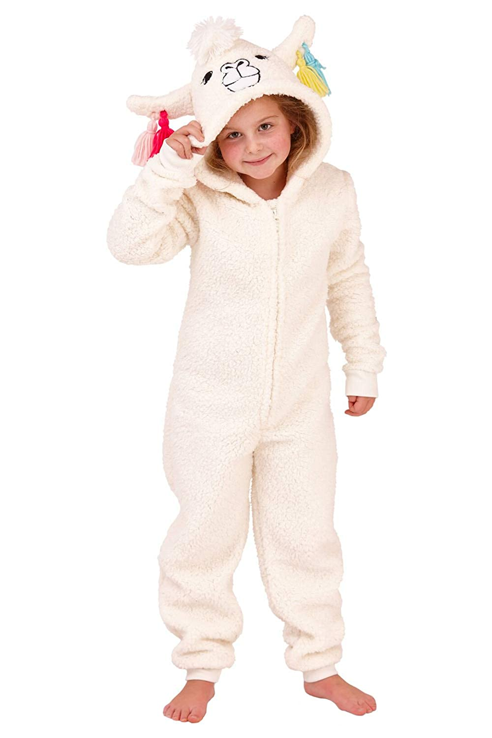 Nifty Kids Novelty Animal All In One Fleece Luxury Sleepsuit