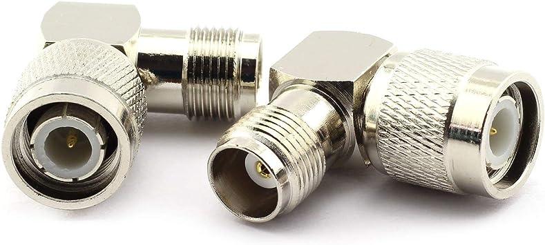 2 x Adaptador de tipo TNC/TNC Conector TNC-macho a conector ...