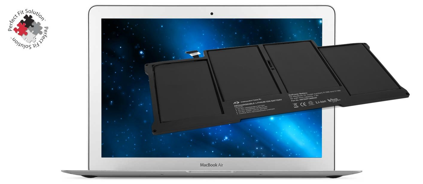 NewerTech NuPower 55Wh Battery for 13'' MacBook Air 2010-2014