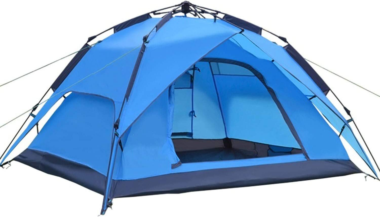 Desert Fox Automatic Camping Tent 3 4 Person Family Tent for