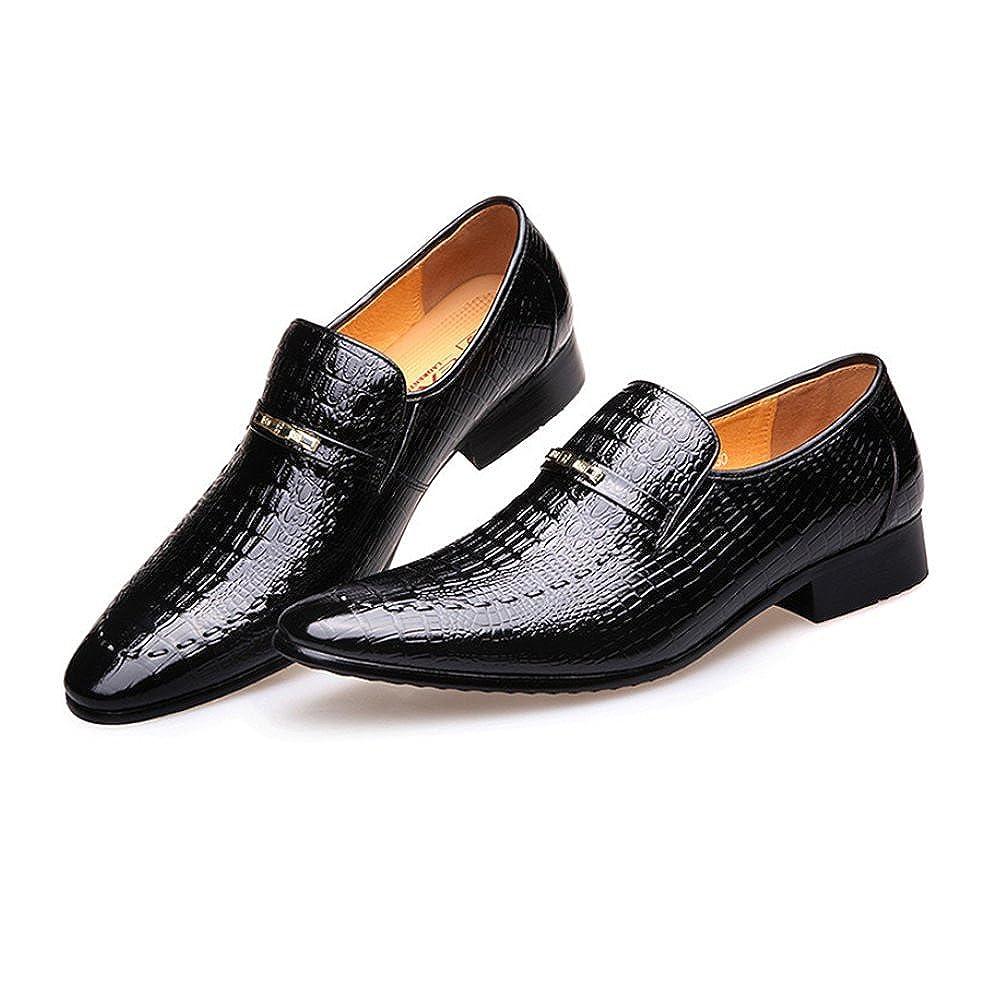 LYZGF Männer Gentleman Business Casual Arbeit Atmungsaktiv Hochzeit Lederschuhe Lederschuhe Lederschuhe 4980d2