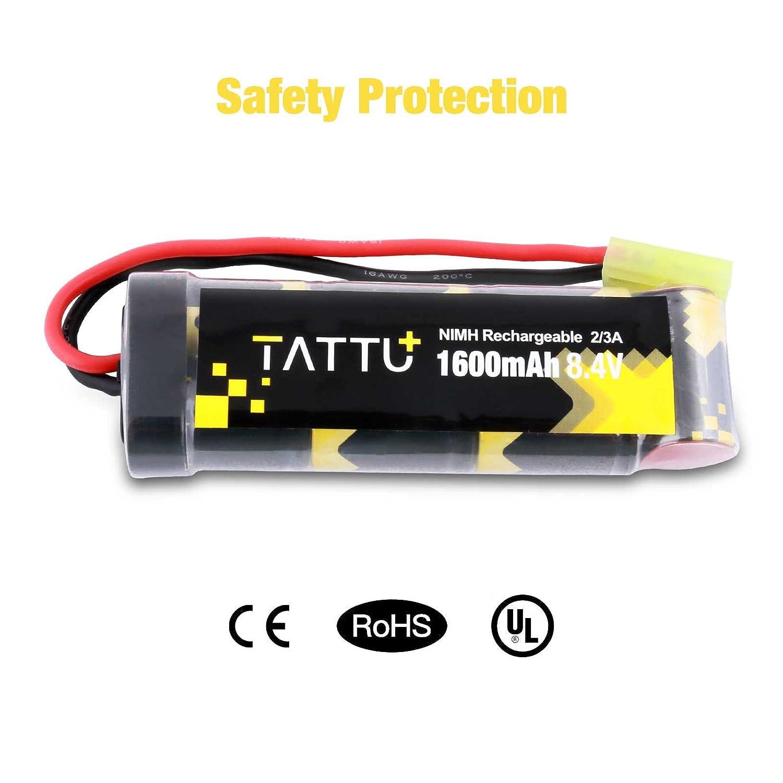 Bateria 8.4V 1600mAh NiMH Mini Tamiya Conector Hembra TATTU