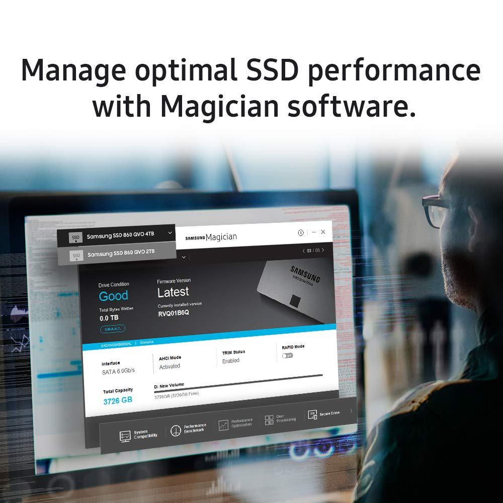 Samsung SSD 860 QVO 1TB 2.5 Inch SATA III Internal SSD (MZ-76Q1T0B/AM), Gray by Samsung (Image #8)