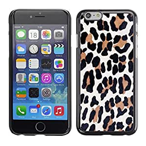 SKCASE Center / Funda Carcasa - Marrón Piel animal Negro;;;;;;;; - Apple Iphone 6 Plus 5.5