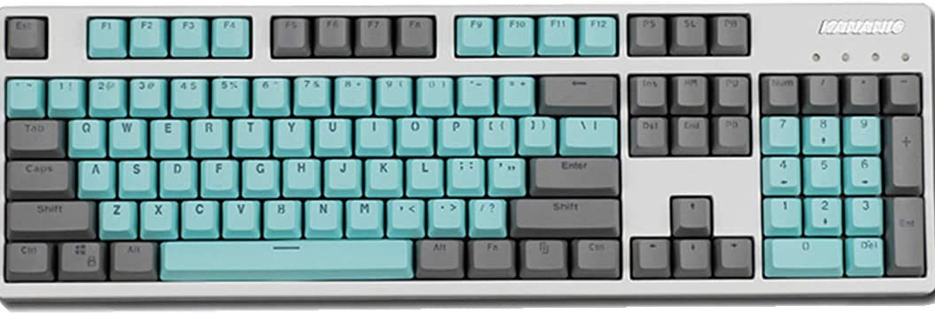 Sunzit Keycaps, 104 Miami Keys Teclado retroiluminado PBT ...