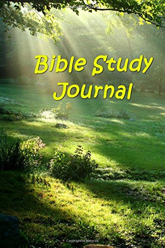 Bible Study Journal Heavenly Light Forest Scene: (Notebook, Diary, Blank Book) (Inspirational Photo Cover Journals Notebooks Diaries)