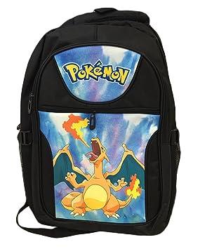 bsbl Pokemon Pikachu Anime de dibujos animados mochila escolar bolsa ...